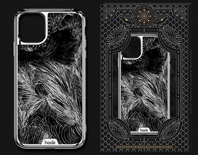 Mobile phone case design and packaging design