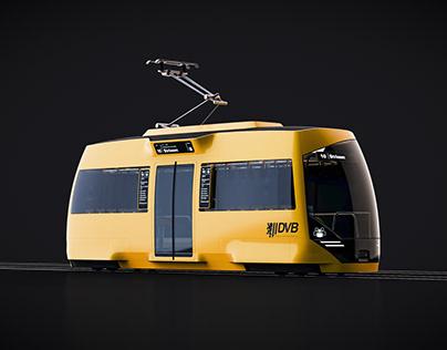 TRAM 2030 - driverless autonomous tram concept