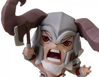 Cute But Deadly Mini Figures for Blizzard