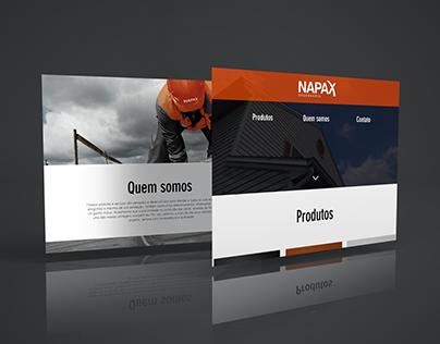 Site Napax Engenharia