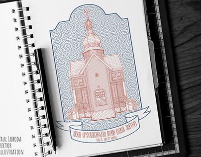 temple logo vector