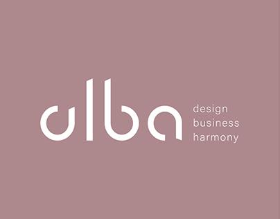 alba - logo design