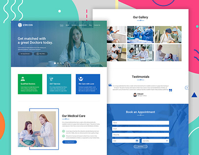 STech - Appointment Landing Page