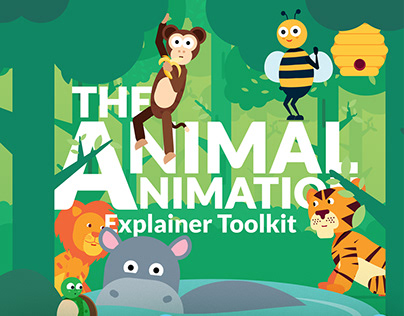 Animal Animation Explainer Toolkit for After Effects