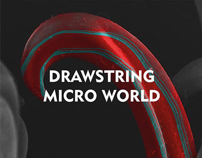 Drawstring Micro World: Tulas Deportivas