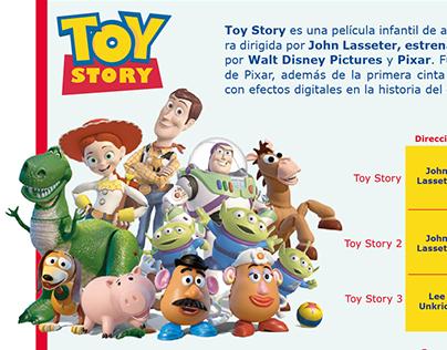 Datos Toy Story