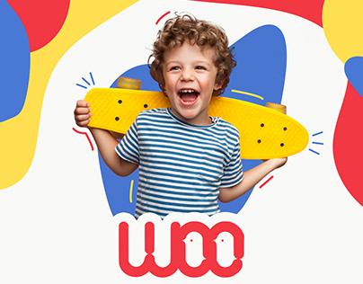WOO Kids Store - Brand Identity