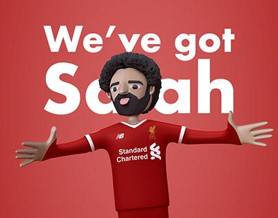 We've got Salah.