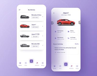 Vehicle Maintenance App