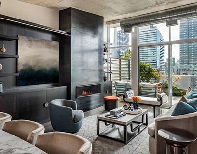 Downtown Penthouse by Sheree Stuart Design