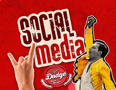 Social Media - Dodge Rock'n Burger