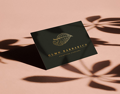 Olmo Barbarico Jewellery - Logotipo