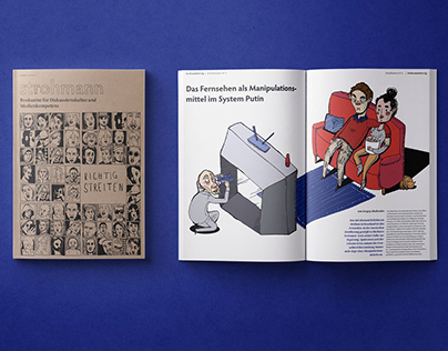 Strohmann, Bookazine für Diskussionskultur