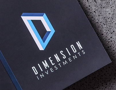 Visual identity for Dimension Investments