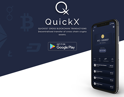 MULTI CRYPTOCURRENCY MOBILE WALLET APP DESIGN