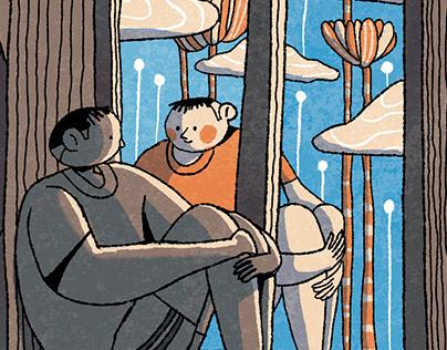 The Memory Box - Book Illustration