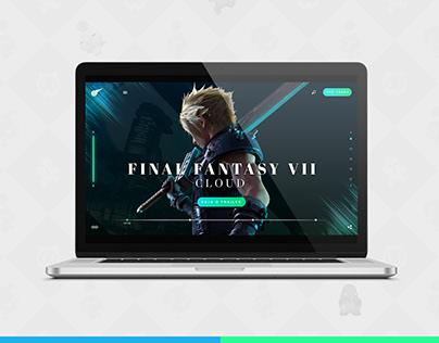 Web Design: UI Final Fantasy VII