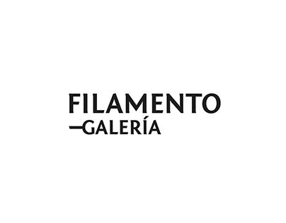 Filamento Gallery UX/UI