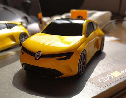 Renault Clio V6 vision - The 1:43 model
