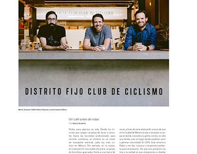 Photos for Gatopardo Magazine: Distrito Fijo
