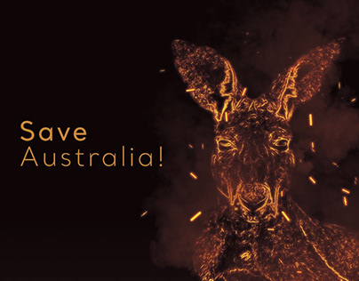 Australia Fire Posters