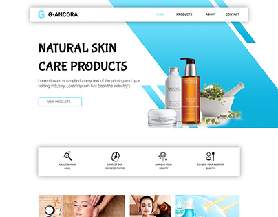 Beauty Product Selling Website for Client 2