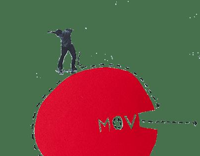 Analog Collage 'move'