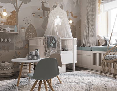 Children's room for girls