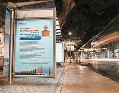 Indian Railways print ads