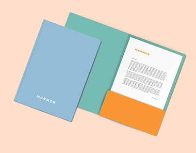 Marmor Graphic Identity Template