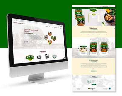 Strona www dla Stoczek Natura