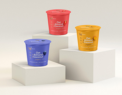 DAHLICIOUS - DAH! ORGANIC YOGURT BRANDING AND PACKAGING
