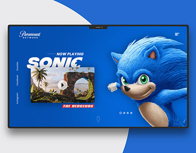 Sonic the hedgehog | Landing page