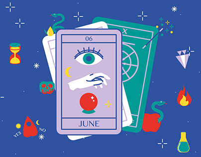 June — Illustration