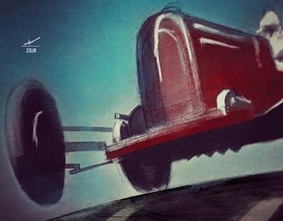 70 Anniversary 2020 British Grand Prix Poster