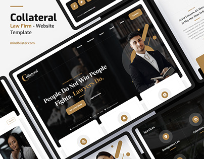 Collateral - Law Firm Website Template