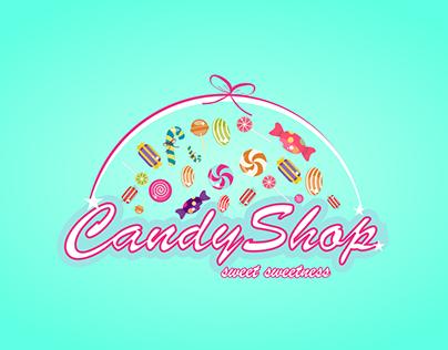 Logo CandyShop Vector