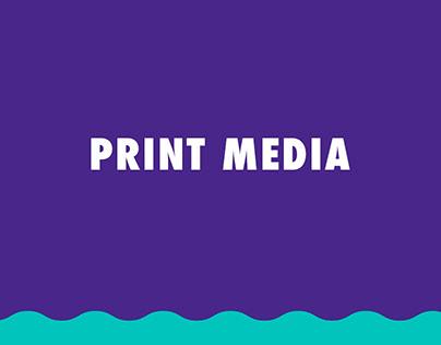 Print Media | Vários formatos