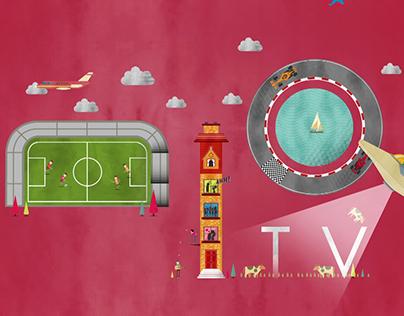 Singtel Mio tv Event Campaign