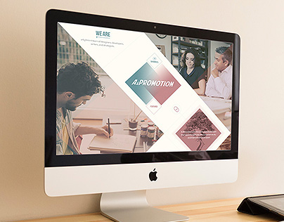 A-Promotion Landing Page Concept