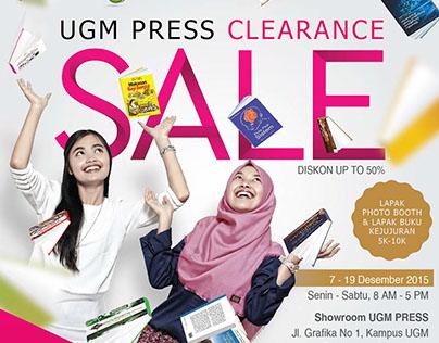 UGM Press Clearance Sale