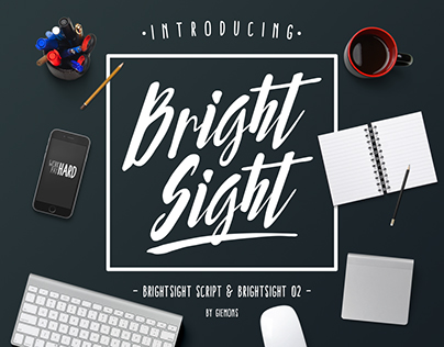 Bright Sight Typeface