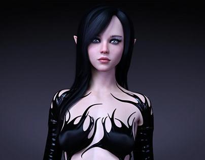 Lavinia 01 3D Rendering
