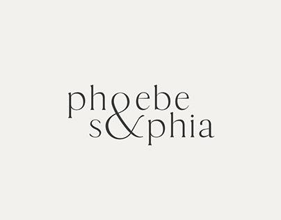 phoebe & sophia branding