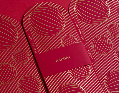 ASPORT : Red Envelope Design
