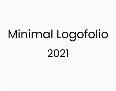 Minimal Logofolio 2021