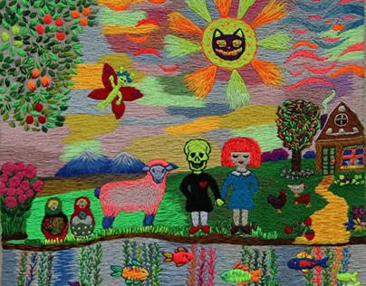 Thread Paintings