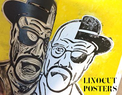 Linocut Posters