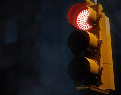 3D U.S. Traffic Lamp