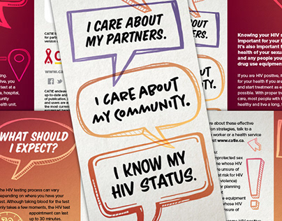 CATIE - I Know My HIV Status Brochure